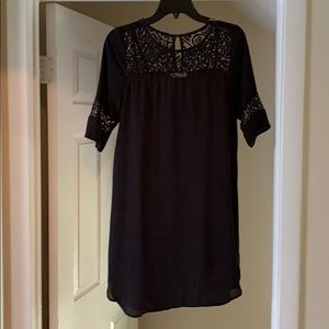 Sheer dress perfect for work or black dress night